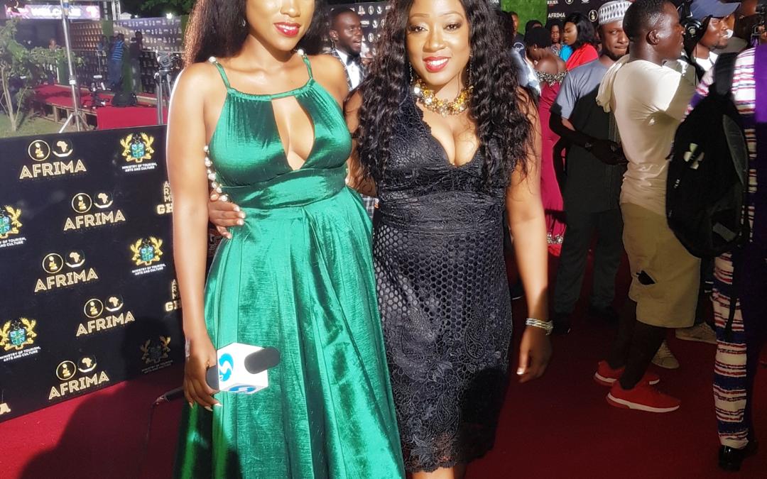 Cocoa Africk in Ghana for Afrima Awards 2018